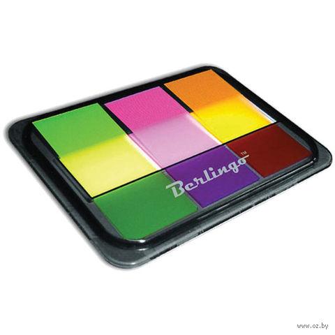 Набор закладок клейких (3 цвета по 20 шт.) — фото, картинка