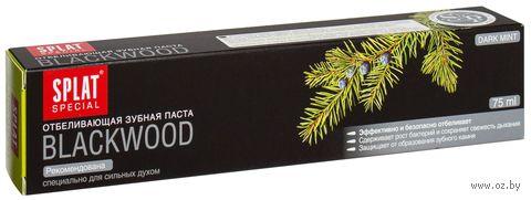 """Зубная паста Splat """"Черное дерево"""" (Blackwood) (75 мл)"""