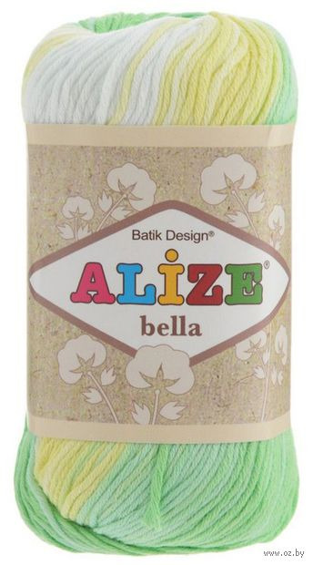 ALIZE. Bella Batik №2131 (50 г; 180 м) — фото, картинка