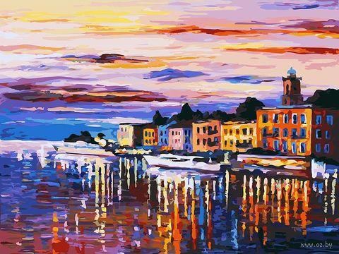 """Картина по номерам """"Озеро Комо-Белладжио"""" (300х400 мм) — фото, картинка"""