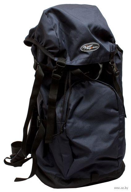 "Рюкзак ""Азимут-60"" (60 л; чёрный/синий) — фото, картинка"