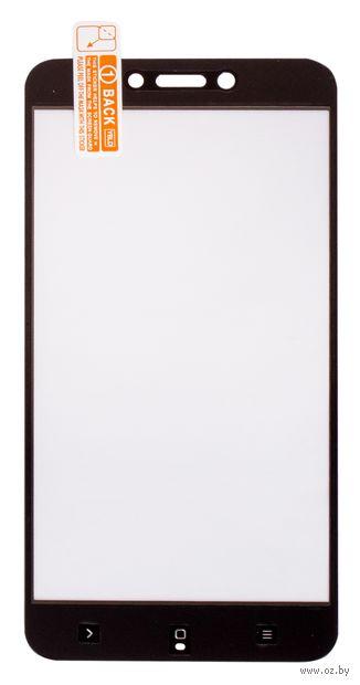 Защитное стекло Olmio для Xiaomi Redmi 4X (038553) (черное) — фото, картинка