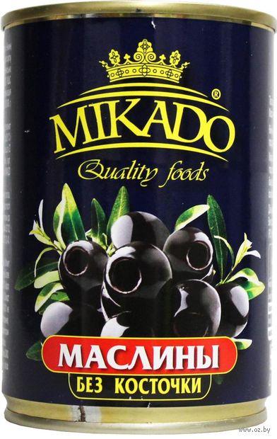 "Маслины ""Mikado. Без косточки"" (300 мл) — фото, картинка"