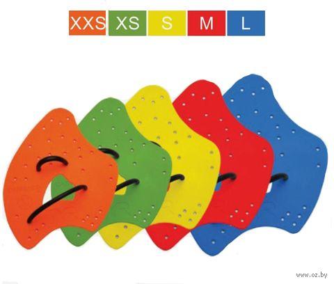 """Лопатки для плавания """"Catalyst 2 Training Paddles"""" (XXS; оранжевые) — фото, картинка"""