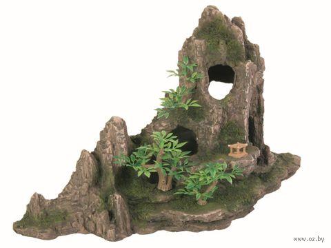 """Декорация для аквариума """"Горный хребет с пещерой"""" (27 см) — фото, картинка"""