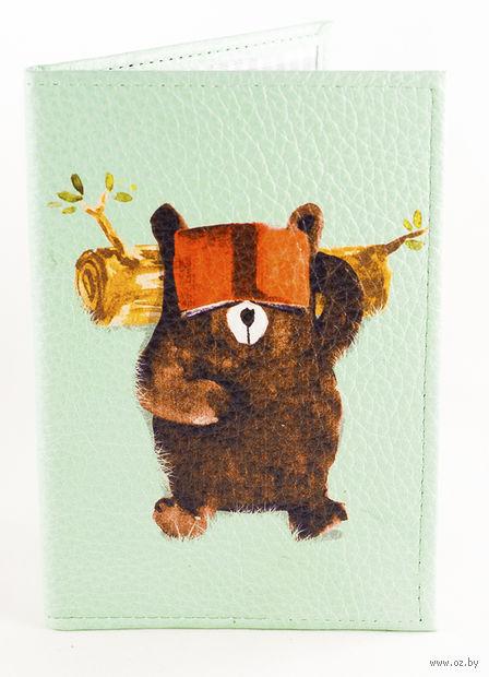 "Обложка на паспорт ""Мишка"" — фото, картинка"