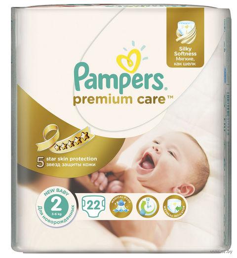 """Подгузники """"Pampers Premium Care Mini"""" (3-6 кг, 22 шт)"""