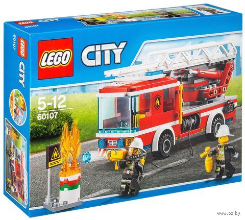 """LEGO City """"Пожарный автомобиль с лестницей"""" — фото, картинка"""