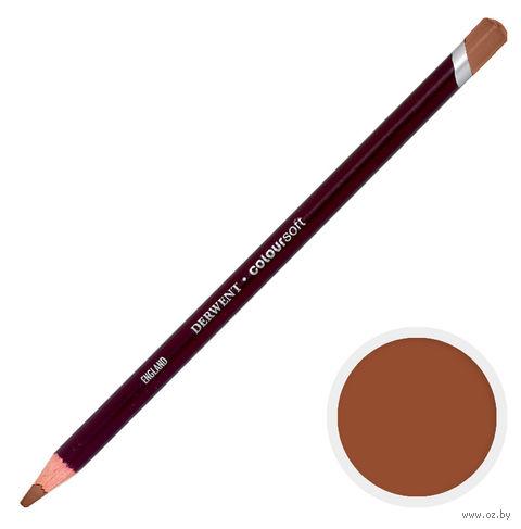 Карандаш цветной Coloursoft C600 (коричневый средний)