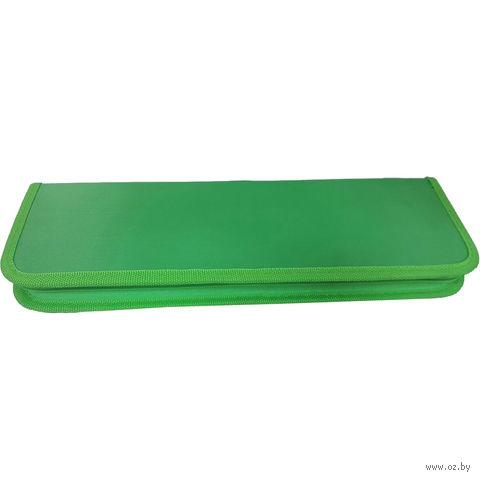 Пенал для кистей (зеленый)