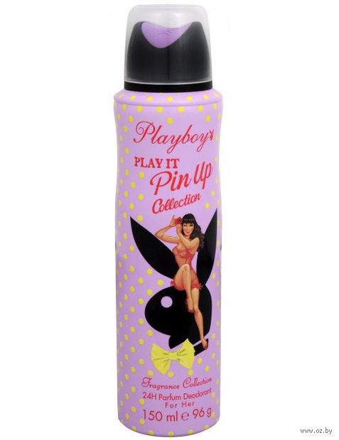 "Дезодорант парфюмерный для женщин ""PLAYBOY. Play It Pin Up Collection"" (спрей; 150 мл)"