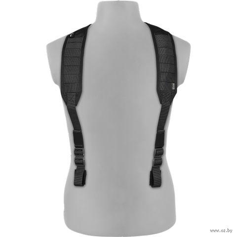 Лямки плечевые универсальные облегчённые v.3 (чёрные) — фото, картинка