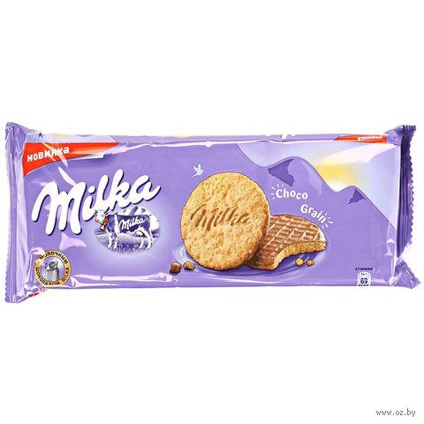 "Печенье ""Milka. Choco Grain"" (168 г) — фото, картинка"