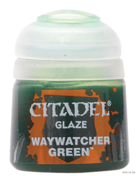 """Краска акриловая """"Citadel Glaze"""" (waywatcher green; 12 мл) — фото, картинка"""