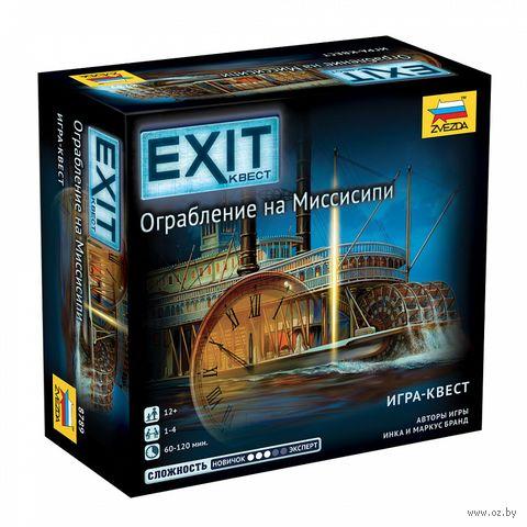 Exit Квест. Ограбление на Миссисипи — фото, картинка