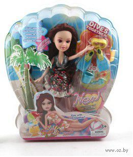"Кукла ""Малышка на пляже"""