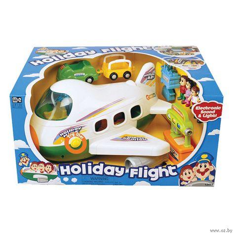 """Игровой набор """"Самолет Holliday Flight"""" (со световыми и звуковыми эффектами)"""