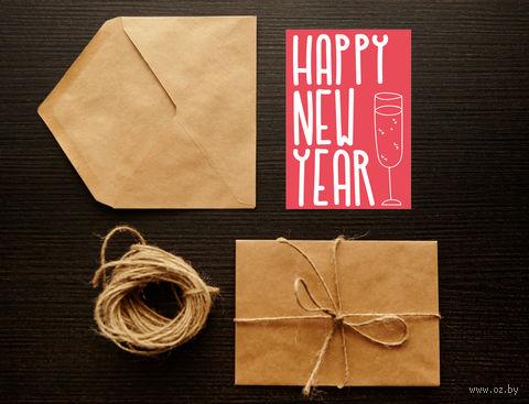"Открытка ""Happy New Year"" (арт. 29) — фото, картинка"