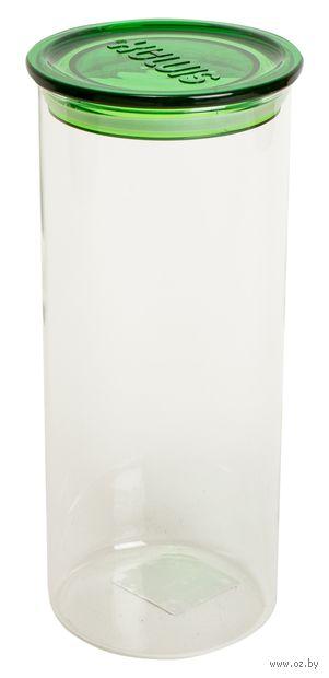 Банка для сыпучих продуктов стеклянная (1,4 л; арт. 5142-D) — фото, картинка