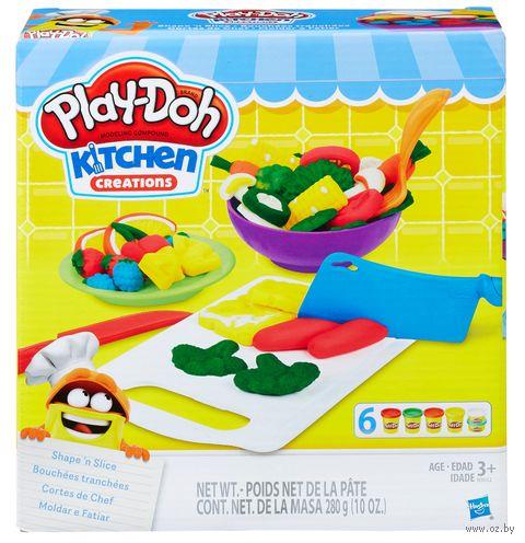 """Набор для лепки """"Play-Doh. Слепи и нарежь на дольки"""" — фото, картинка"""