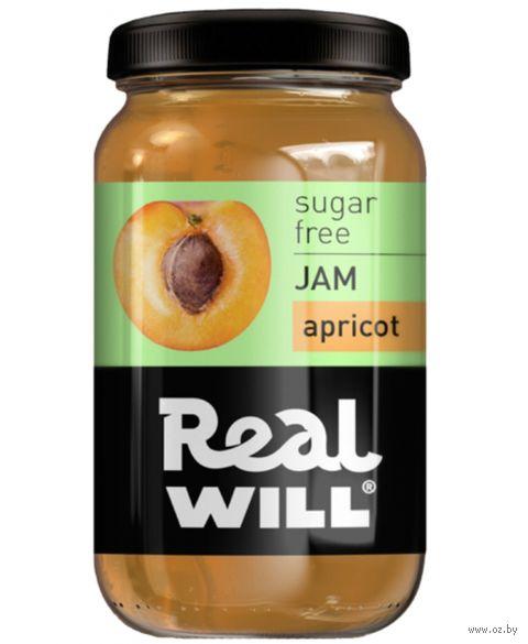 """Джем """"Real Will. Абрикосовый"""" (350 г) — фото, картинка"""