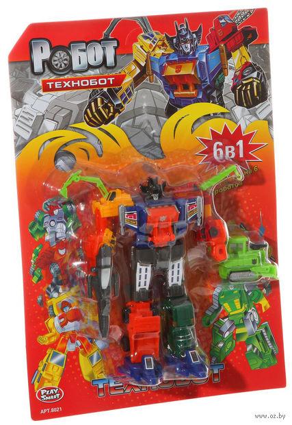 """Робот-трансформер """"Технобот. 6 в 1"""""""