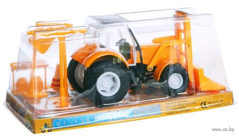 """Игровой набор """"Трактор Construction"""" — фото, картинка"""