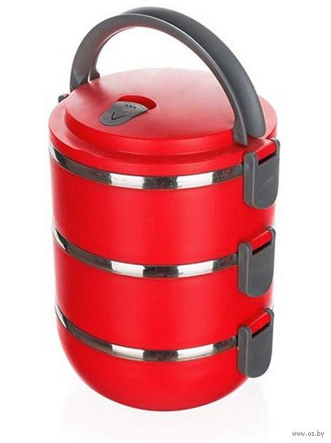 Набор контейнеров для еды металлических (3 шт.; 700 мл)