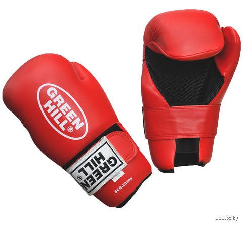 Накладки для карате 7-contact (L; красные) — фото, картинка