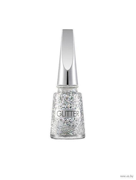 """Лак для ногтей """"Glitter Nail Enamel"""" (тон: 01, stardust) — фото, картинка"""