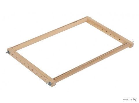 Пяльцы-рамки с клипсой (15х30 см) — фото, картинка