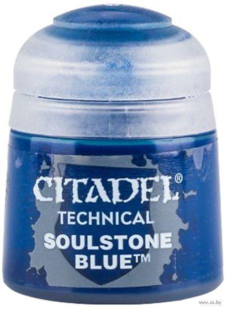 """Краска акриловая """"Citadel Technical"""" (soulstone blue; 12 мл) — фото, картинка"""