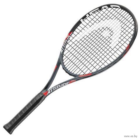 """Ракетка для большого тенниса """"MX Attitude Pro Gr3"""" (чёрная) — фото, картинка"""