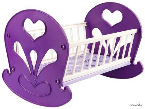 Кроватка-качалка для кукол (арт. С-250) — фото, картинка