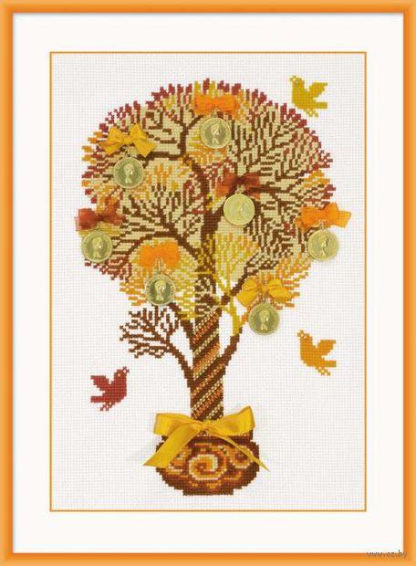 """Вышивка крестом """"Денежное дерево"""" (арт. 1294)"""