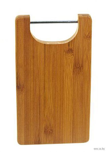 Доска разделочная бамбуковая (25*14*1,8 см, арт. 4610009)
