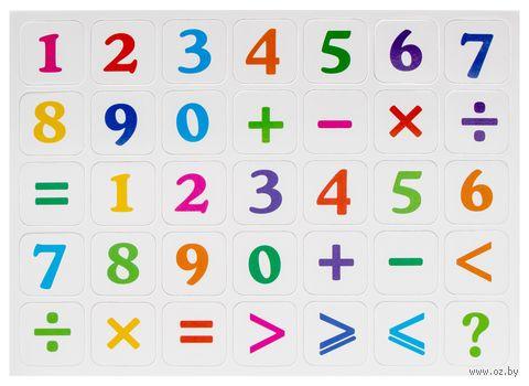 """Набор магнитов """"Цифры и знаки"""" (арт. DV-7842) — фото, картинка"""