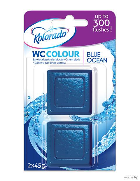 "Таблетка для бачка ""Kolorado WC Colour"" (голубая; 2 шт.) — фото, картинка"