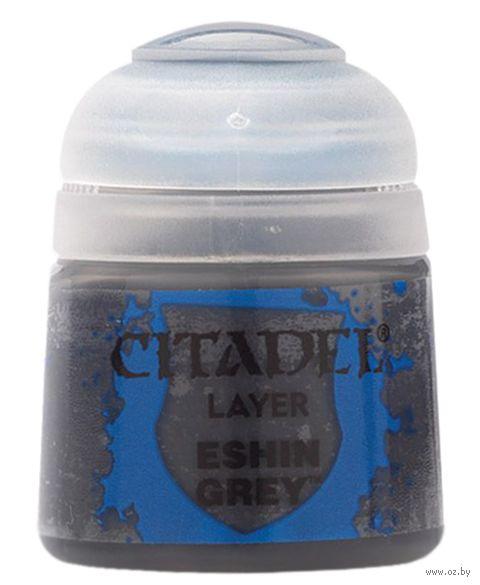 """Краска акриловая """"Citadel Layer"""" (eshin grey; 12 мл) — фото, картинка"""