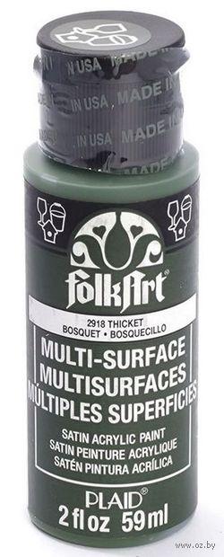 """Краска акриловая """"FolkArt Multi-Surface"""" (чаща, 59 мл; арт. PLD-02918)"""