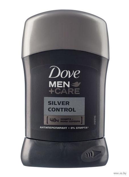 """Дезодорант-антиперспирант для мужчин DOVE """"Заряд серебра"""" (стик; 50 мл)"""