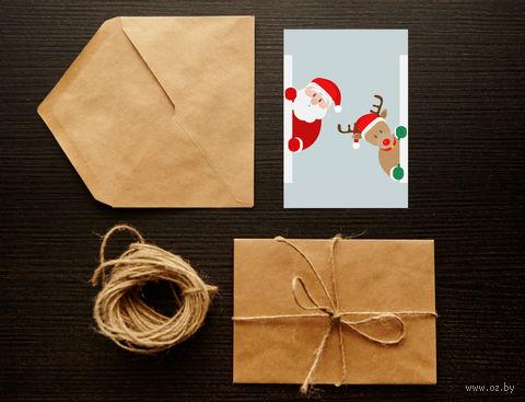"Открытка ""Merry Christmas. Happy New Year"" (арт. 33) — фото, картинка"