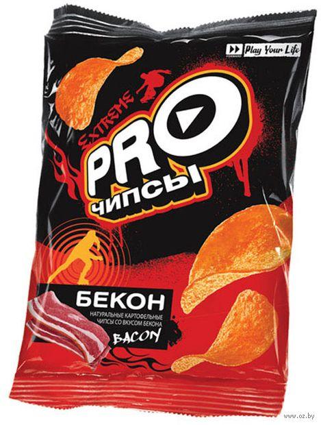 """Чипсы картофельные """"Pro-чипсы. Со вкусом бекона"""" (60 г) — фото, картинка"""