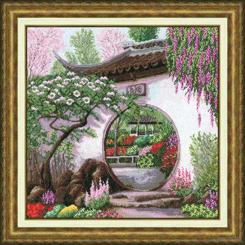 """Вышивка крестом """"Весна в Японии"""""""