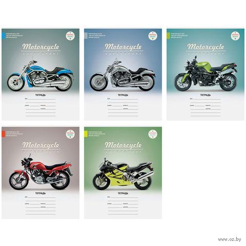 """Тетрадь в клетку 18 листов """"Мотоциклы. Supersport"""""""