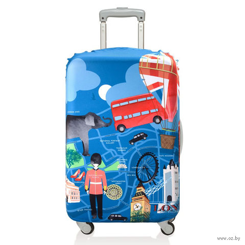 "Чехол для чемодана ""London"" (малый)"