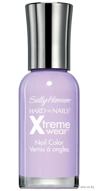 """Лак для ногтей """"Hard as nails xtreme wear"""" (тон: 559, светло-лиловый) — фото, картинка"""