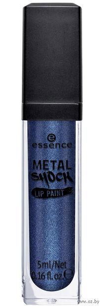 "Блеск для губ ""Metal Shock"" (тон: 01, синий) — фото, картинка"