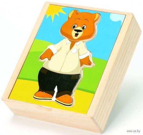 """Деревянная игрушка """"Медвежонок Миша"""" — фото, картинка"""
