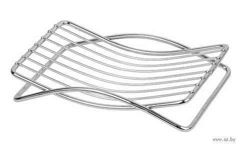 Мыльница металлическая (120x90 мм) — фото, картинка
